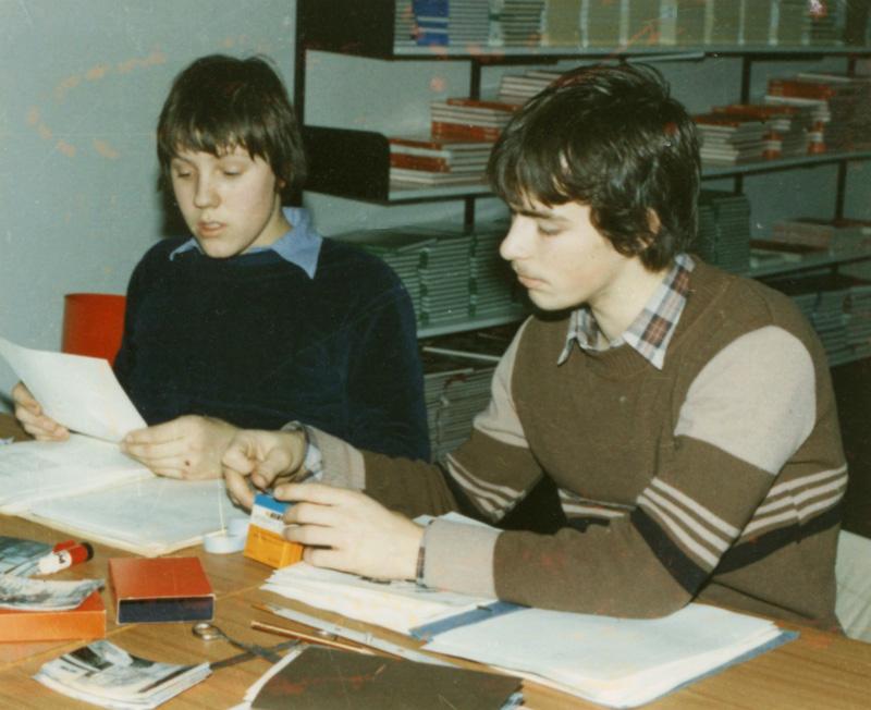 1980: Rainer Westhoff und Gregor Rüter