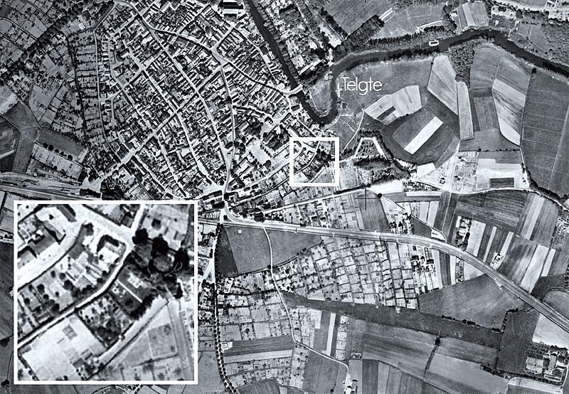 Telgte Luftbild von 1939